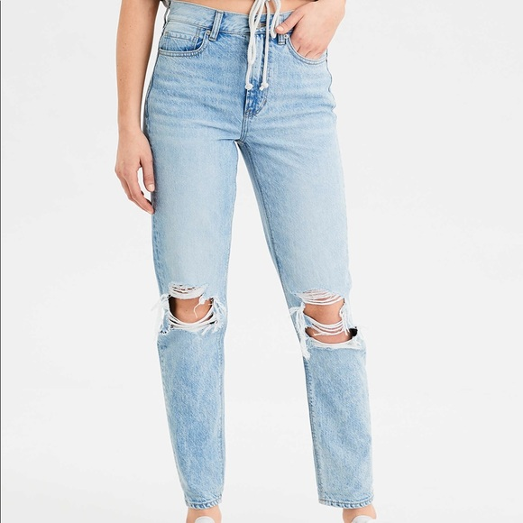 American Eagle Outfitters Pants - American Eagle Mom Jeans
